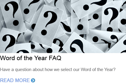 Word of the Year FAQ