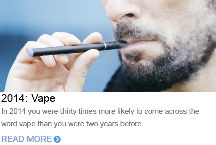 Word of the Year 2014 Vape