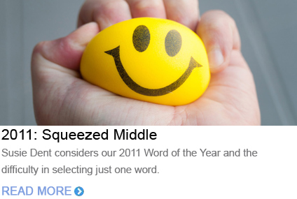 Word of the Year 2011 Squeezed Middle