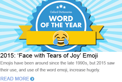 Word of the Year 2015 Emoji